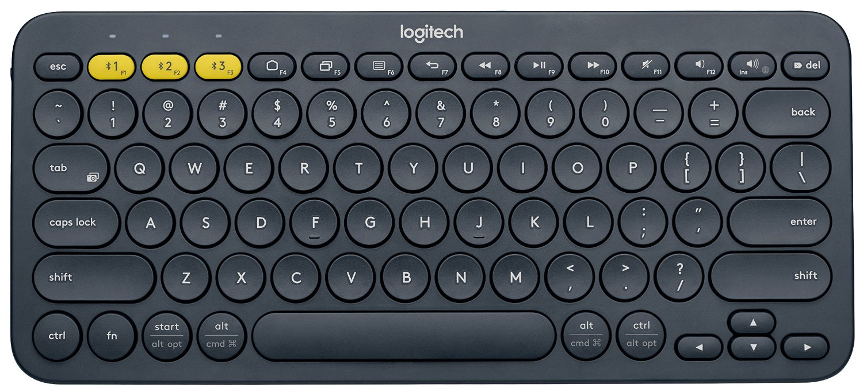 Logitech Wireless K380 Black.