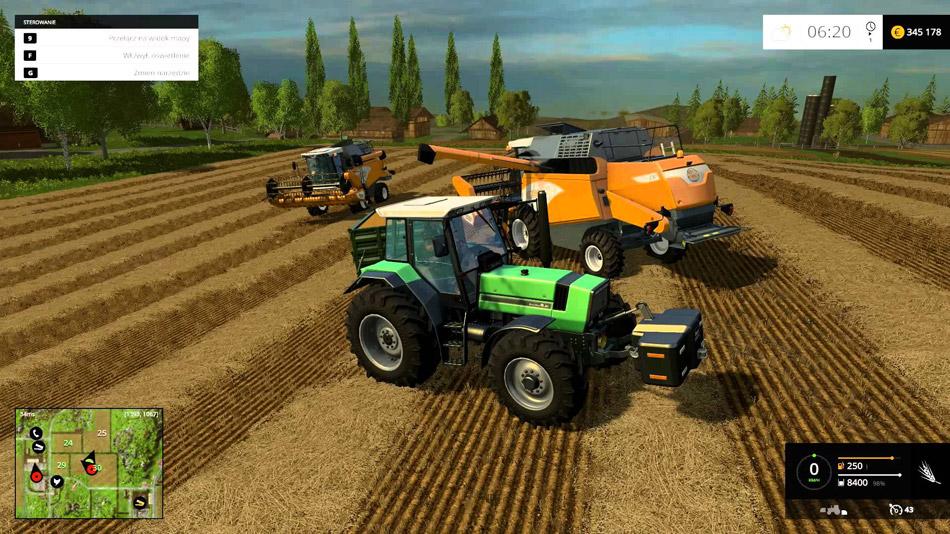 Полевые работы в Farming Simulator 16