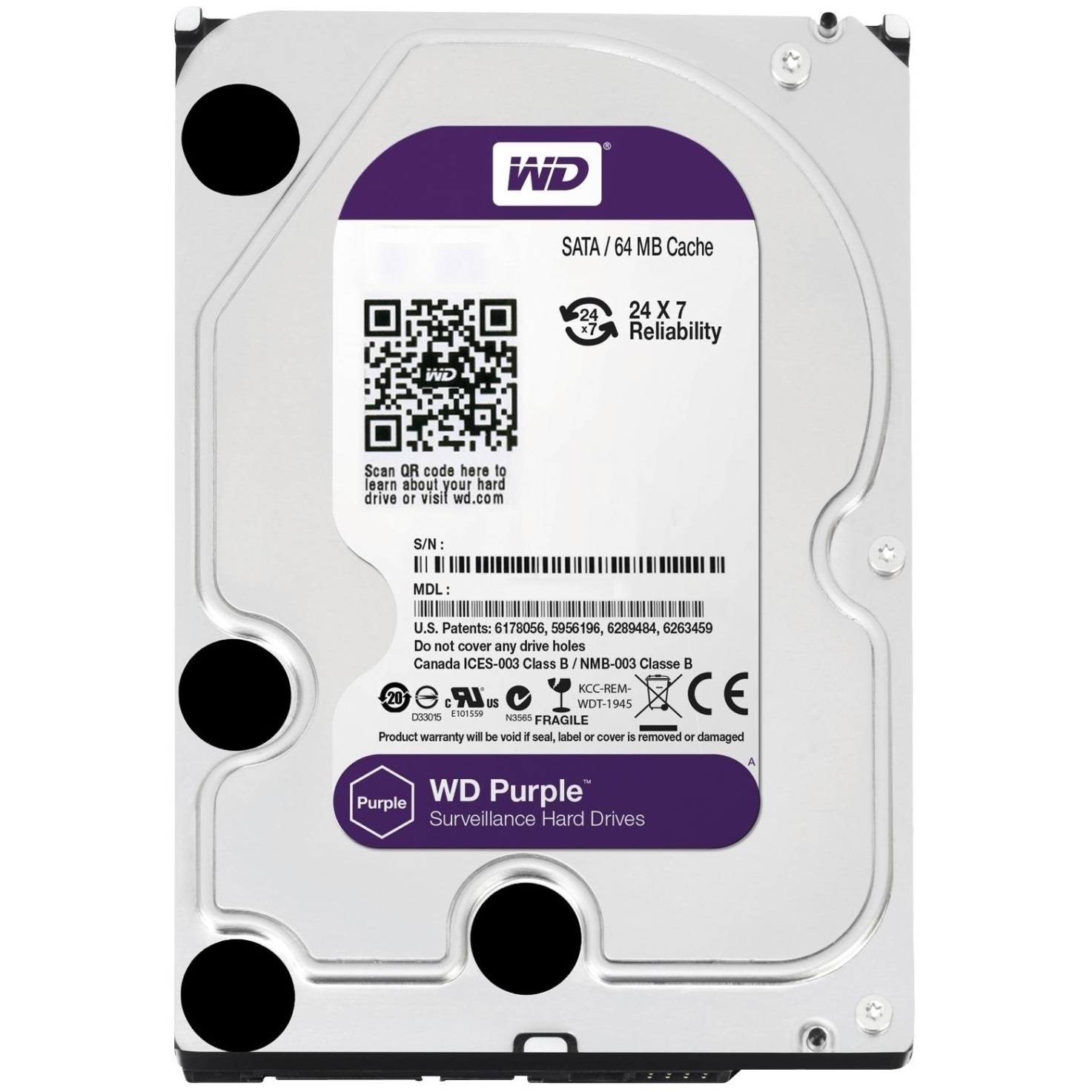 WD Purple 100PURZ