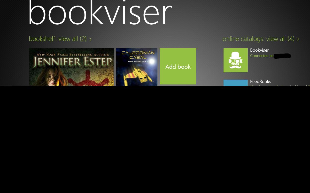 Bookviser Reader превратит смартфон в удобную читалку