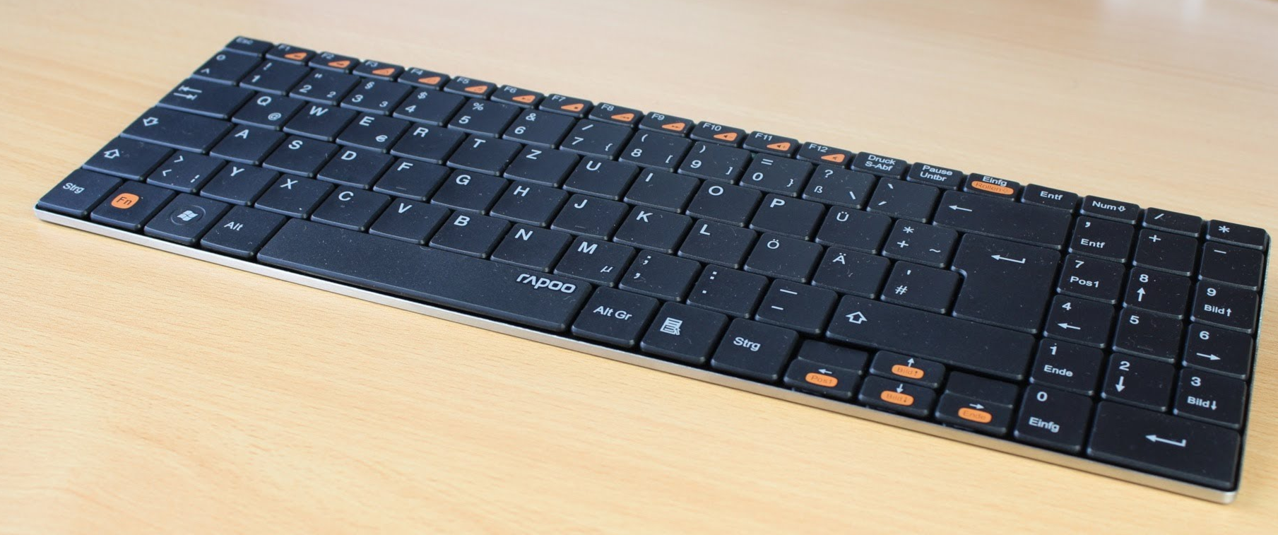 RAPOO Wireless Ultra-slim Keyboard E9070.