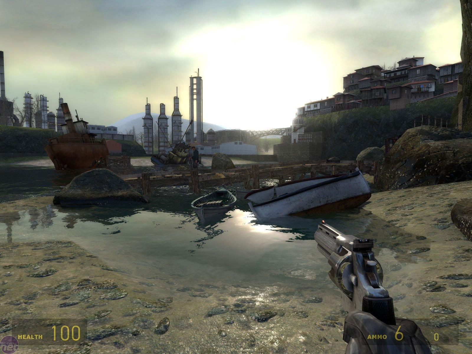 Заброшенная гавань в Half-Life 2