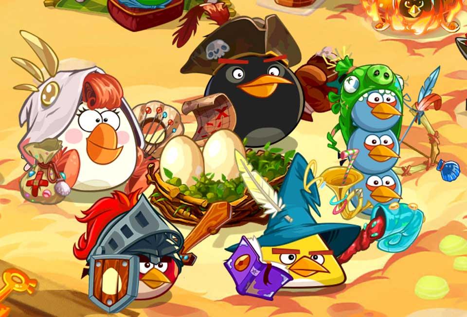 Герои Angry Birds: Epic