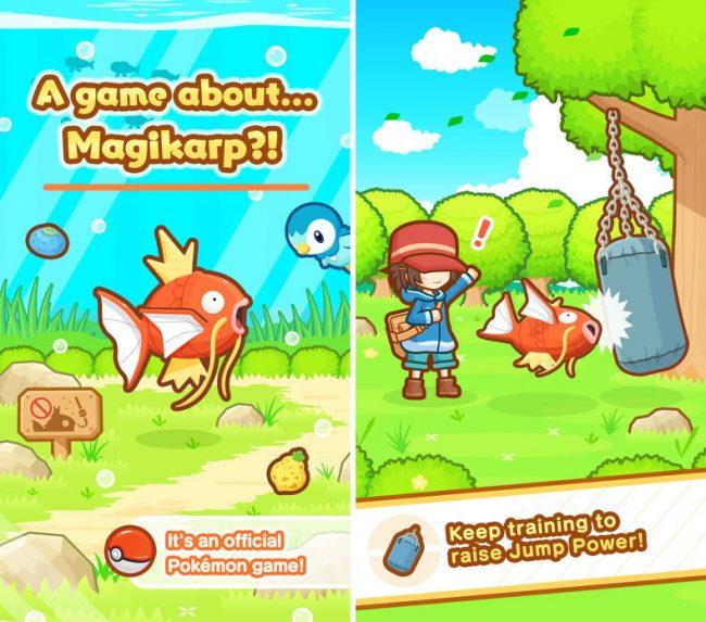 приложение Покемоны: Magikarp