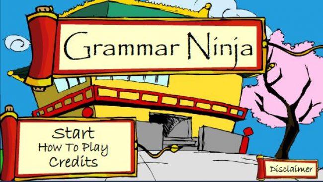 Игра Grammar Ninja