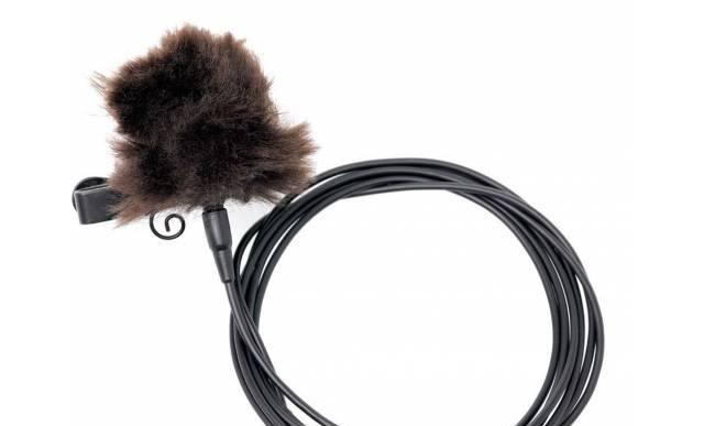 Необычный петличный микрофон