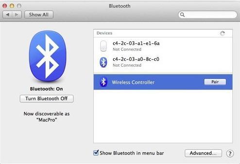 Обнаружение на MAC OS