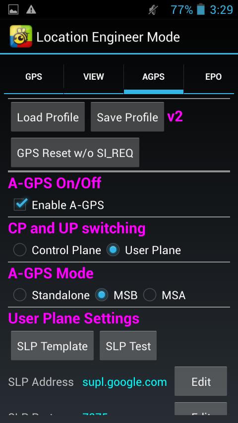 Огромный перечень параметров GPS