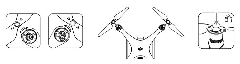 Рис.7 – крепление пропеллеров