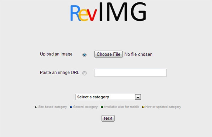 Сайт RevIMG