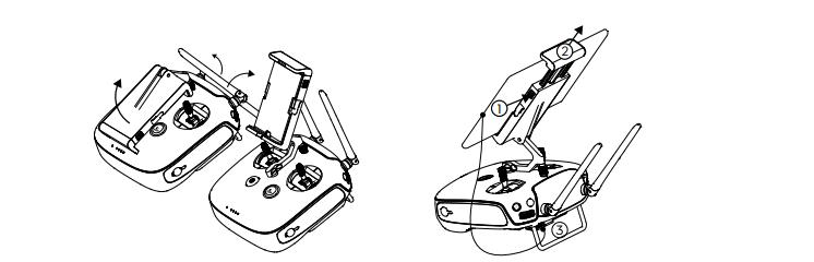 Рис.9 – крепление телефона и его подключение к пульту ДУ