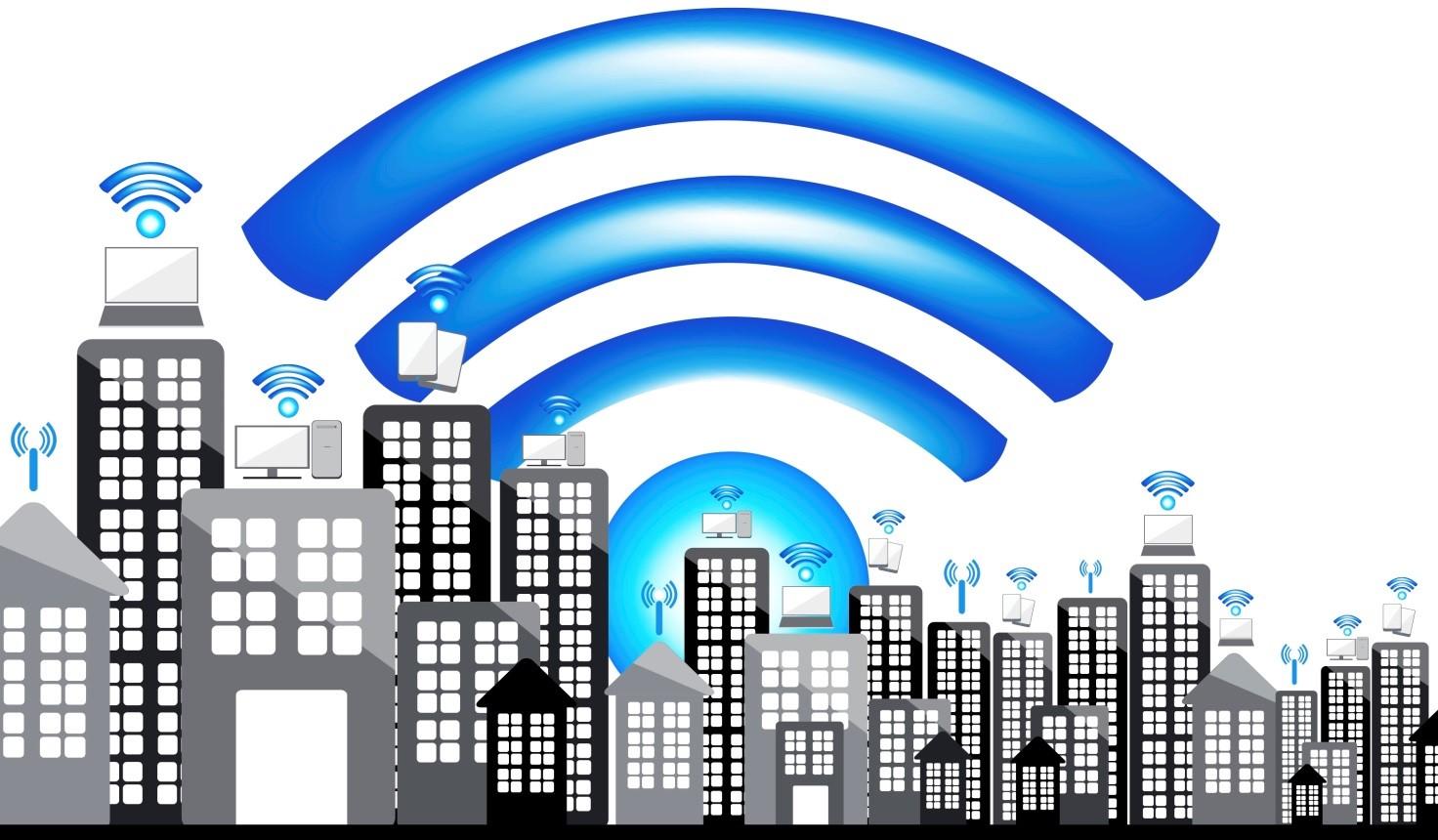 Рис. 3. Доступ к сети осуществляется в крупных городах