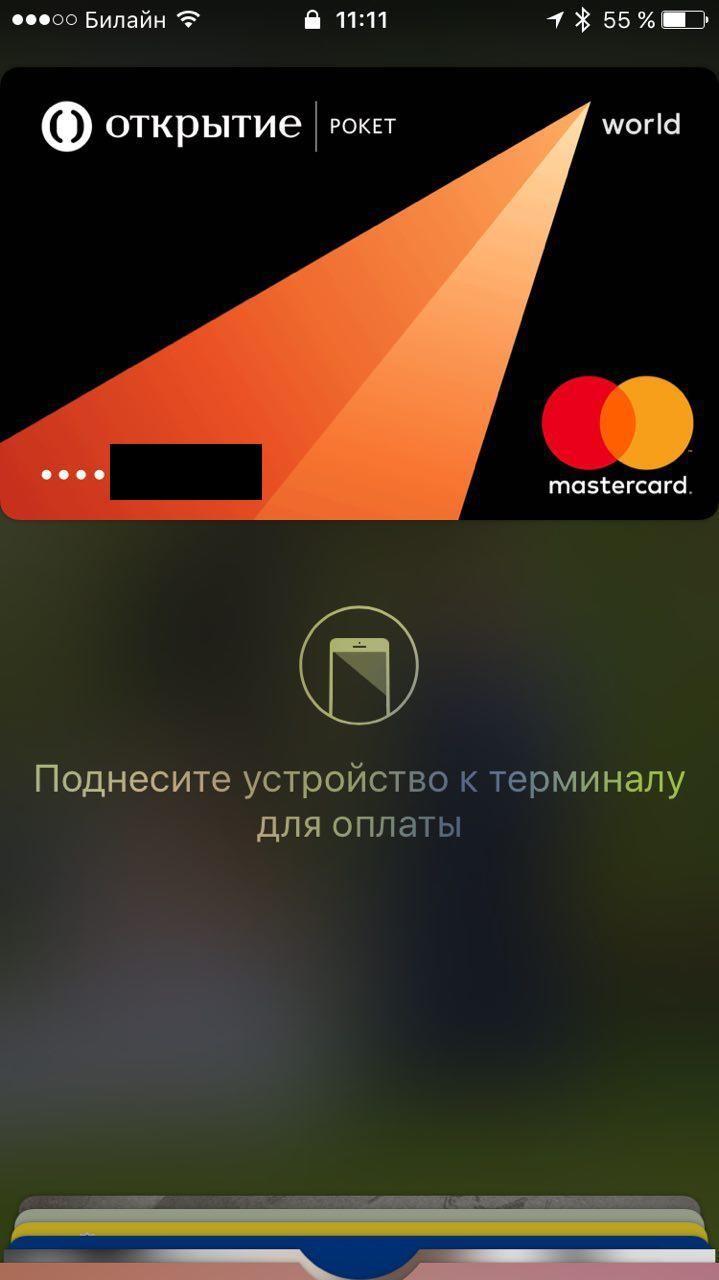 Рис.10 – оплата с заблокированным экраном