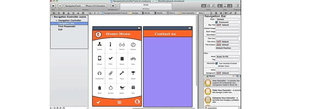 Рис. 11. Два созданных экрана программы