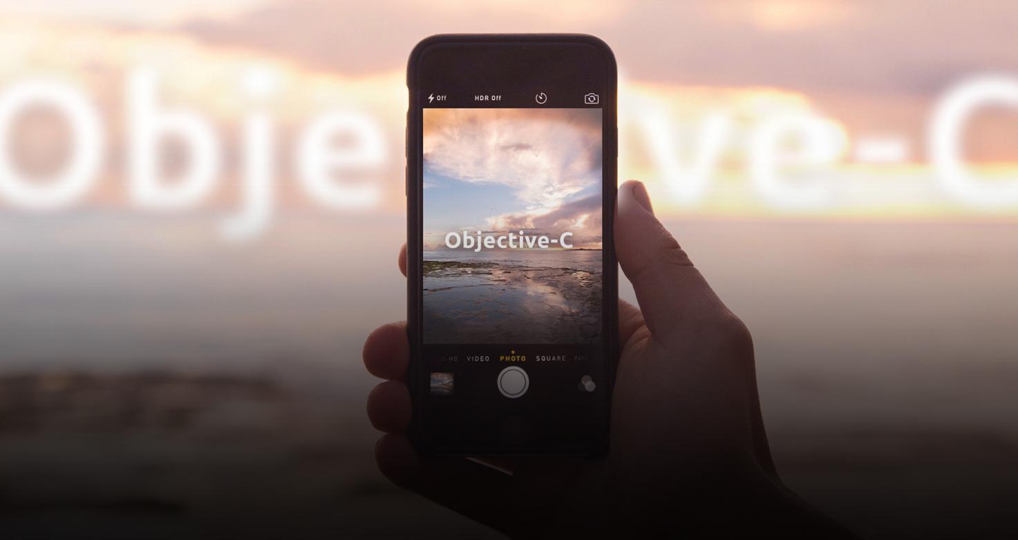 Рис. 2. Objective-C – среда разработки для iOS