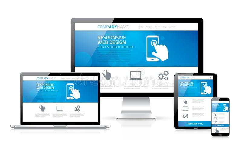 Рис. 3 – Гибкий веб-дизайн