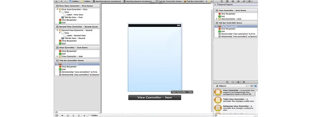 Рис. 10. Созданный главный экран будущей программы