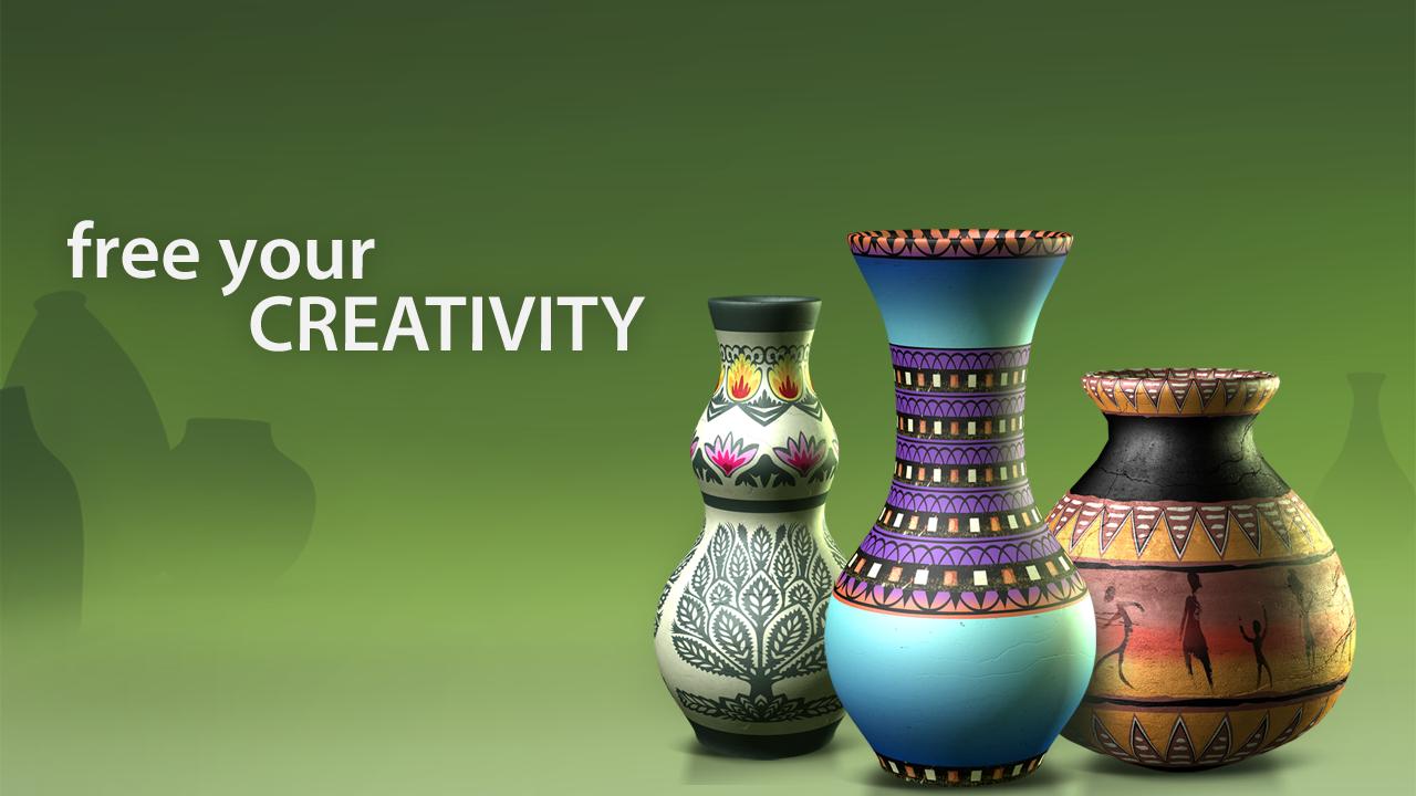 Рис. 1 – Создано в Let's Create! Pottery