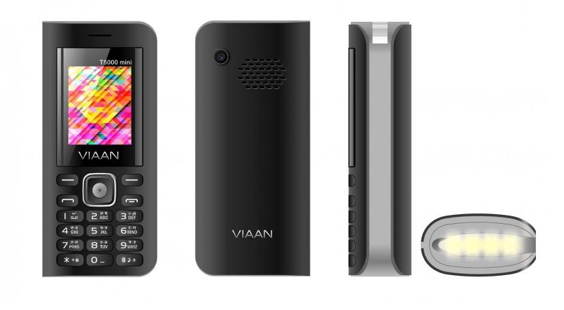Рис. 1. Модель Viaan V11 – недорогой телефон-аккумулятор.