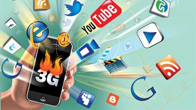 Рис. 1. 3G сети и интернет через них