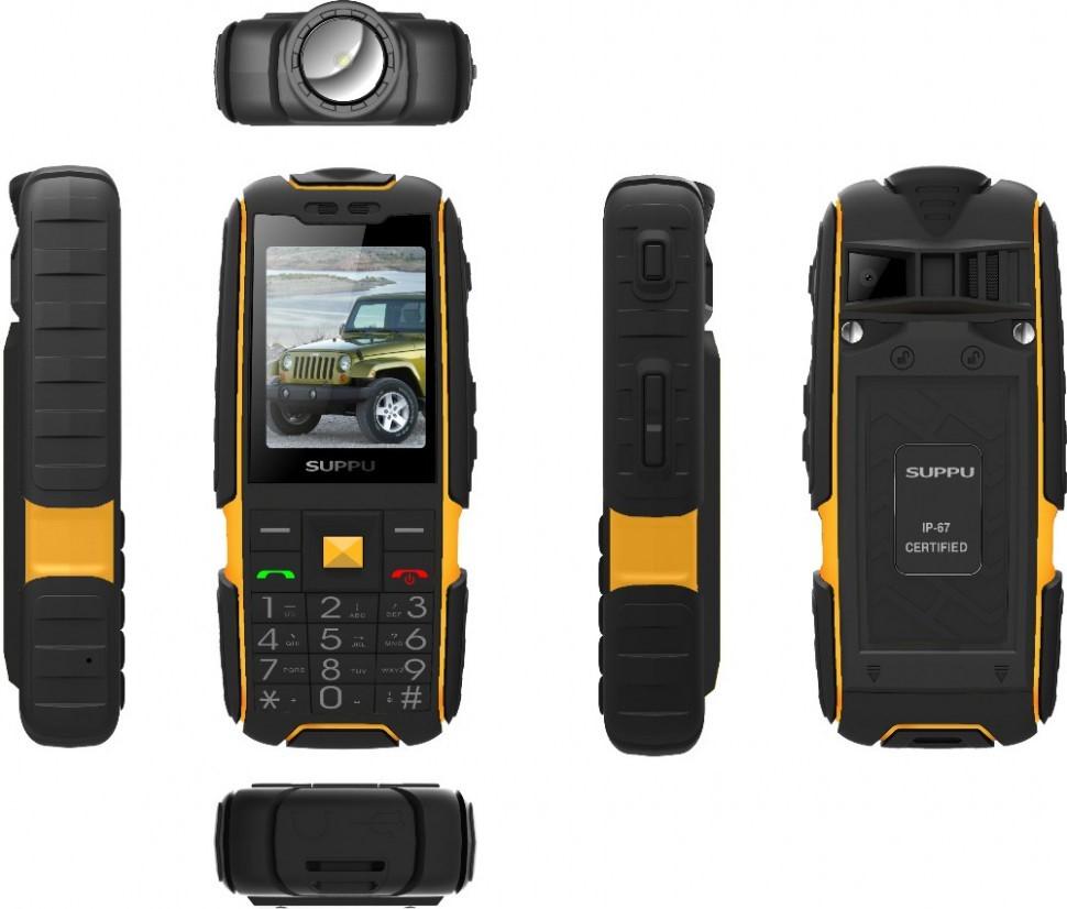 Рис. 11. Мощный телефон Land Rover X6000.