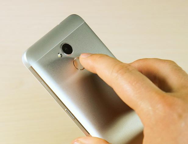 Рис. 18 – Демонстрация использования функции отпечатка пальца