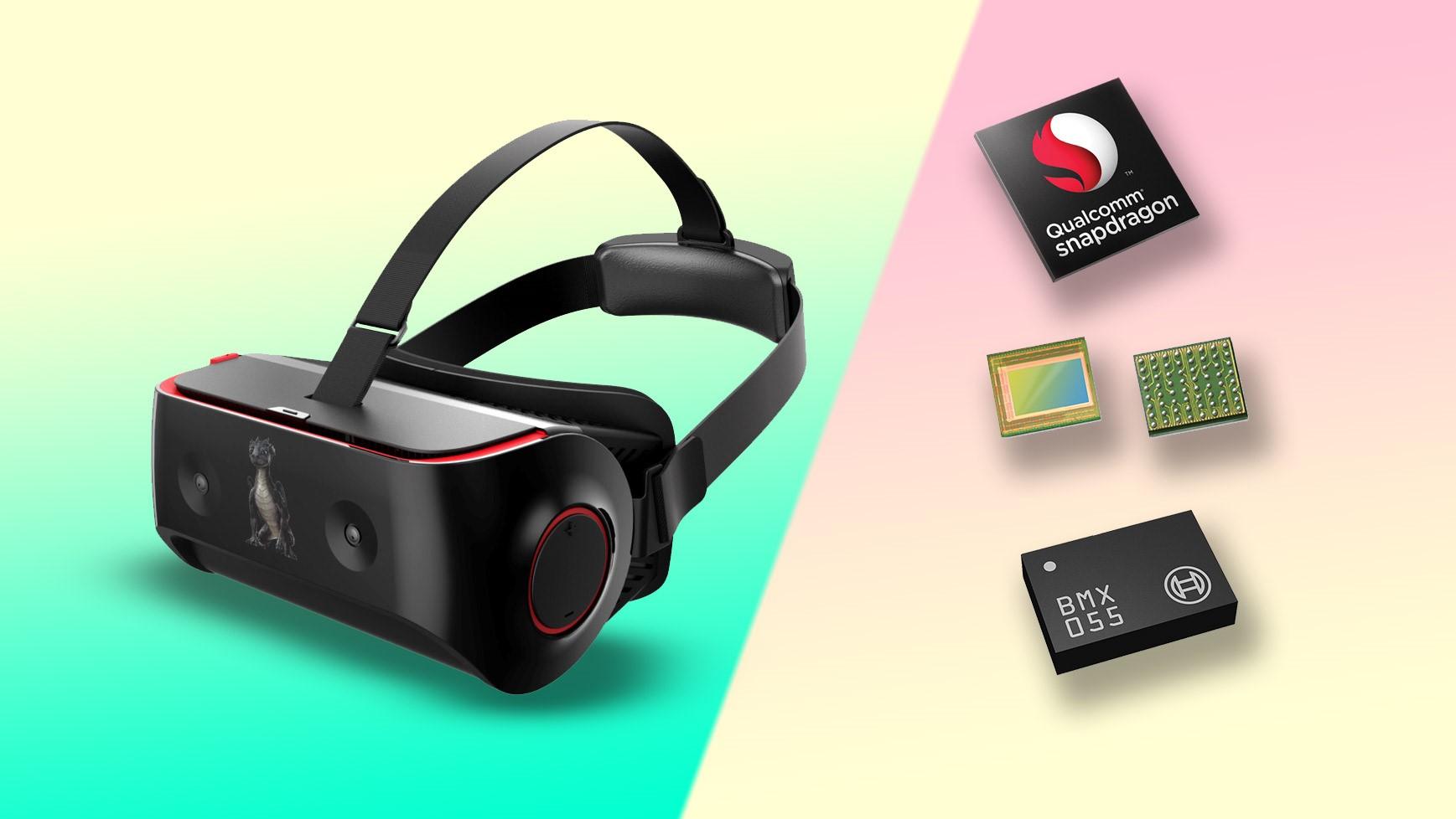Рис. 2. Очки виртуальной реальности с чипом Snapdragon 835.