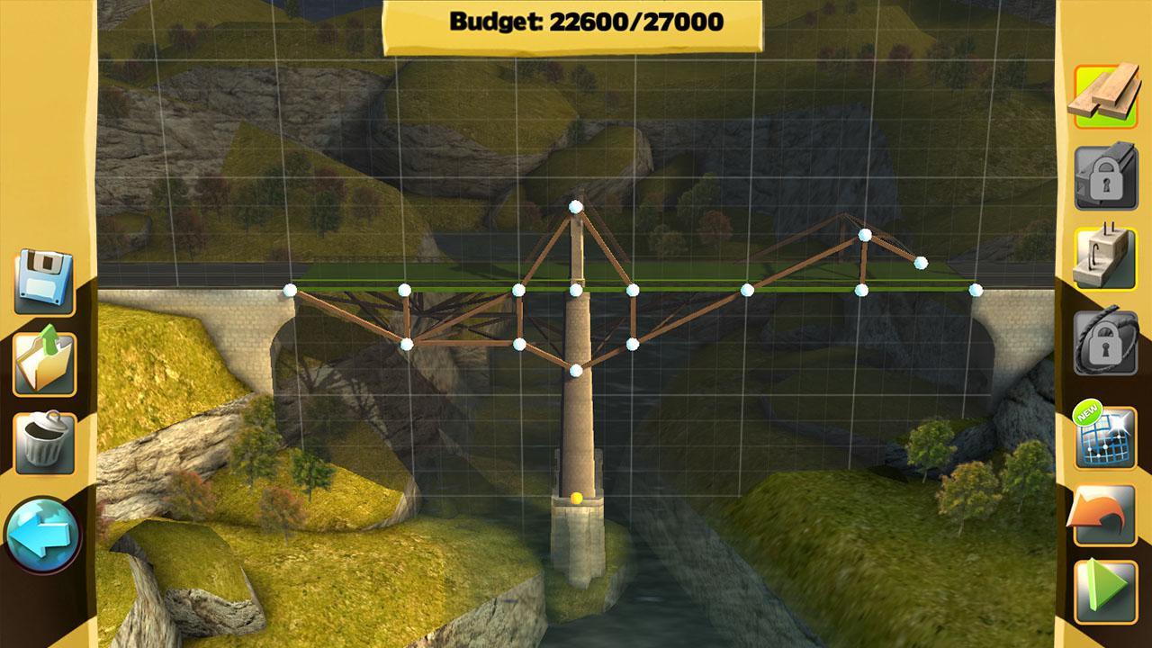 Рис. 2 – Строение моста в Bridge Constructor