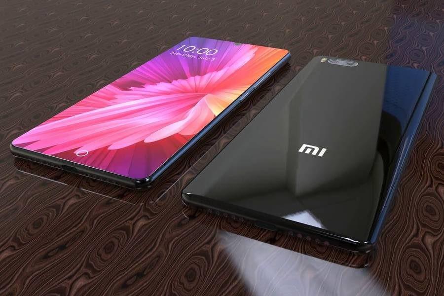 Рис. 2. Будущий безрамочный гаджет от Xiaomi.