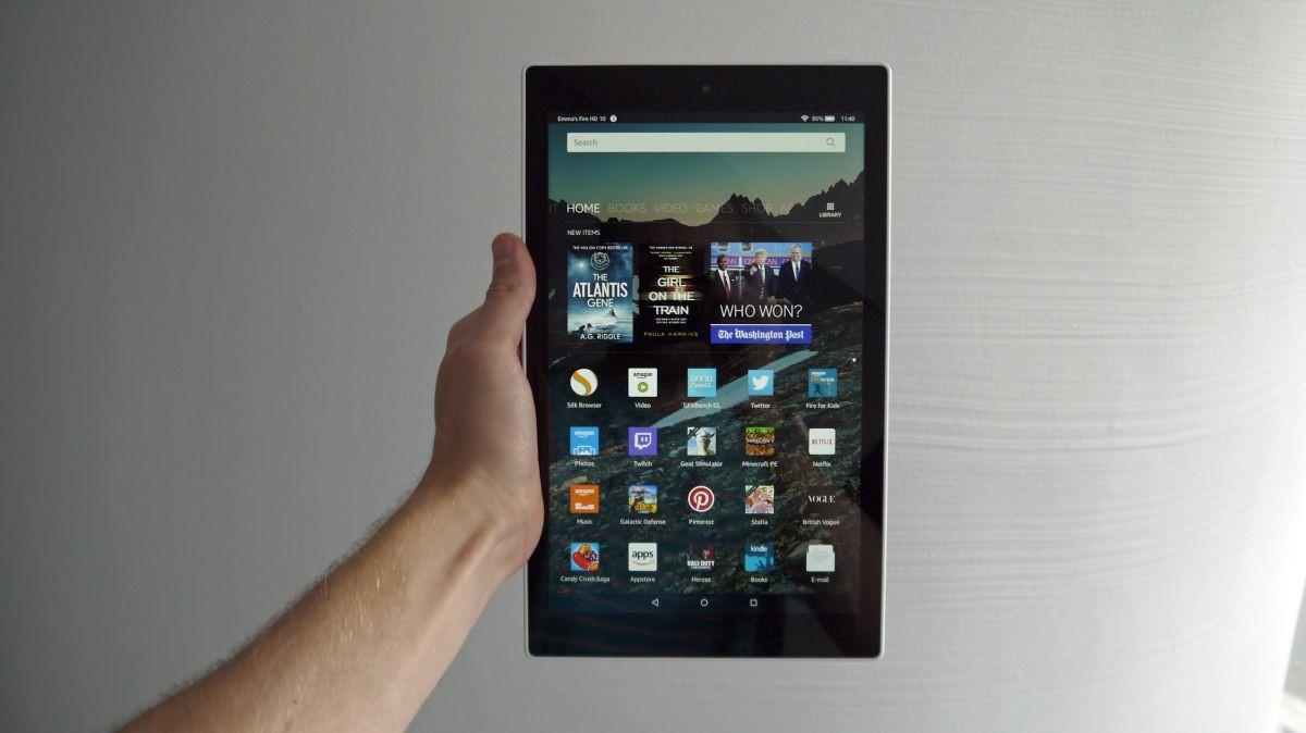Рис. 4. Модель Fire HD 10 – доступный по цене и неплохой по возможностям гаджет от Amazon.