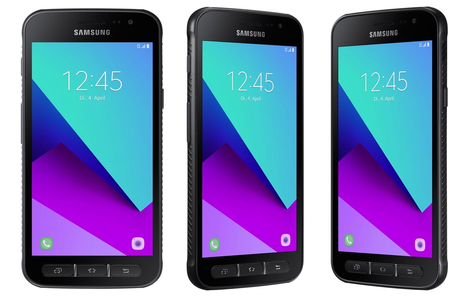 Рис. 5. Защищённая модель от Самсунг – Galaxy Xcover 4.