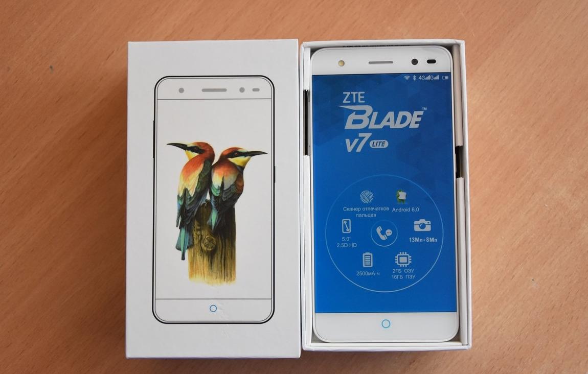 Рис. 5 – Вид смартфона в коробке
