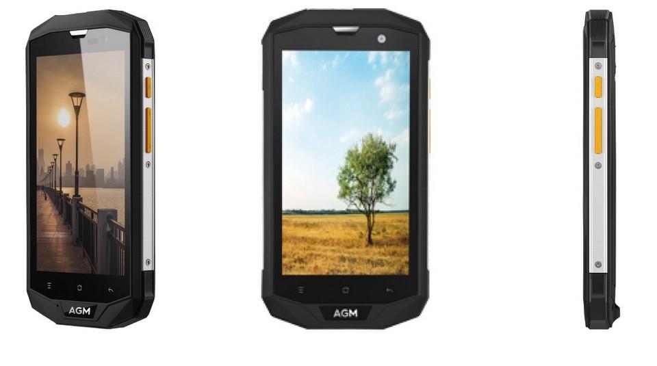 Рис. 6. Смартфон AGM A8 4/64GB – функциональная и защищённая модель.