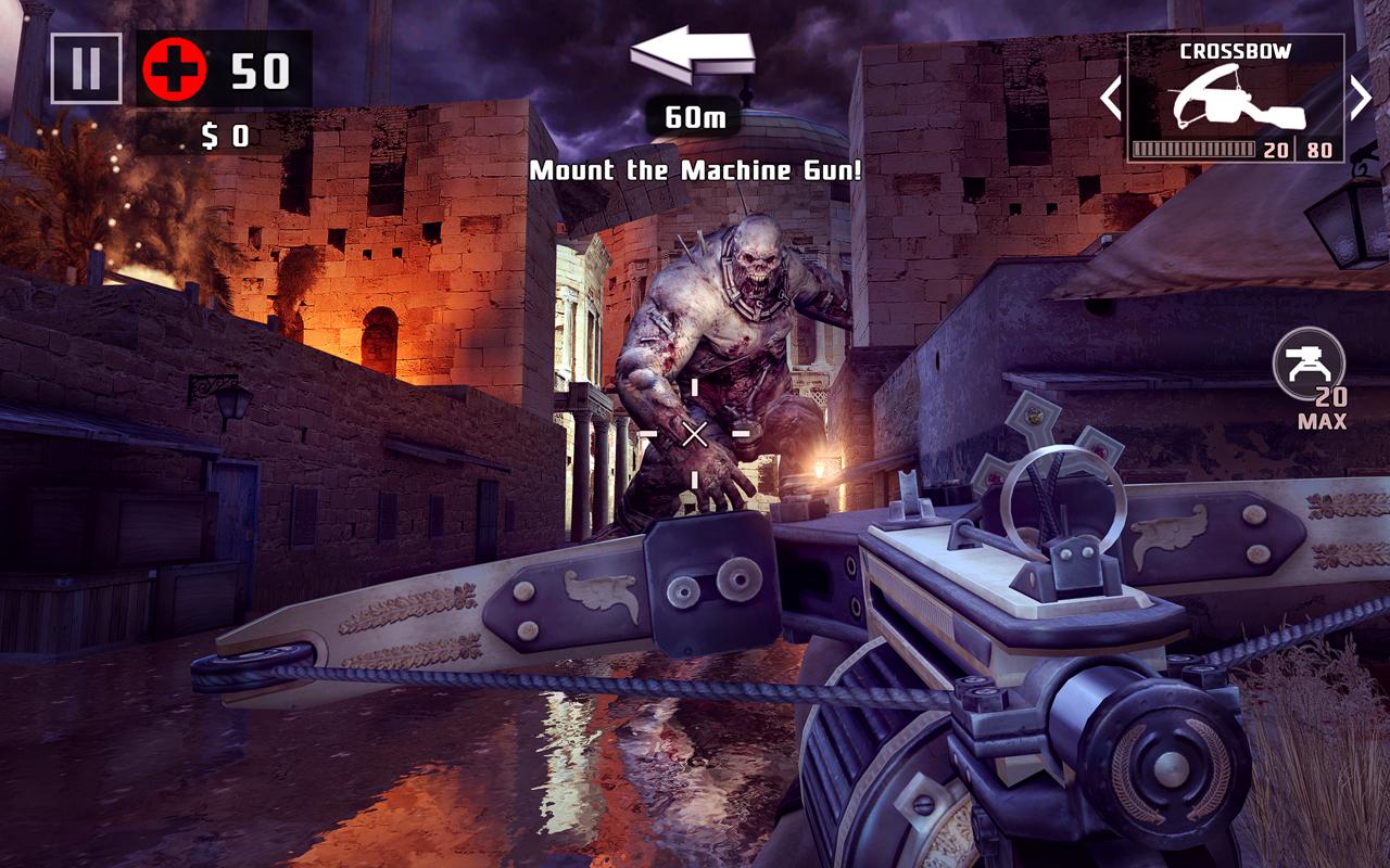 Рис. 6. Использованная для тестирования игра Dead Trigger 2.