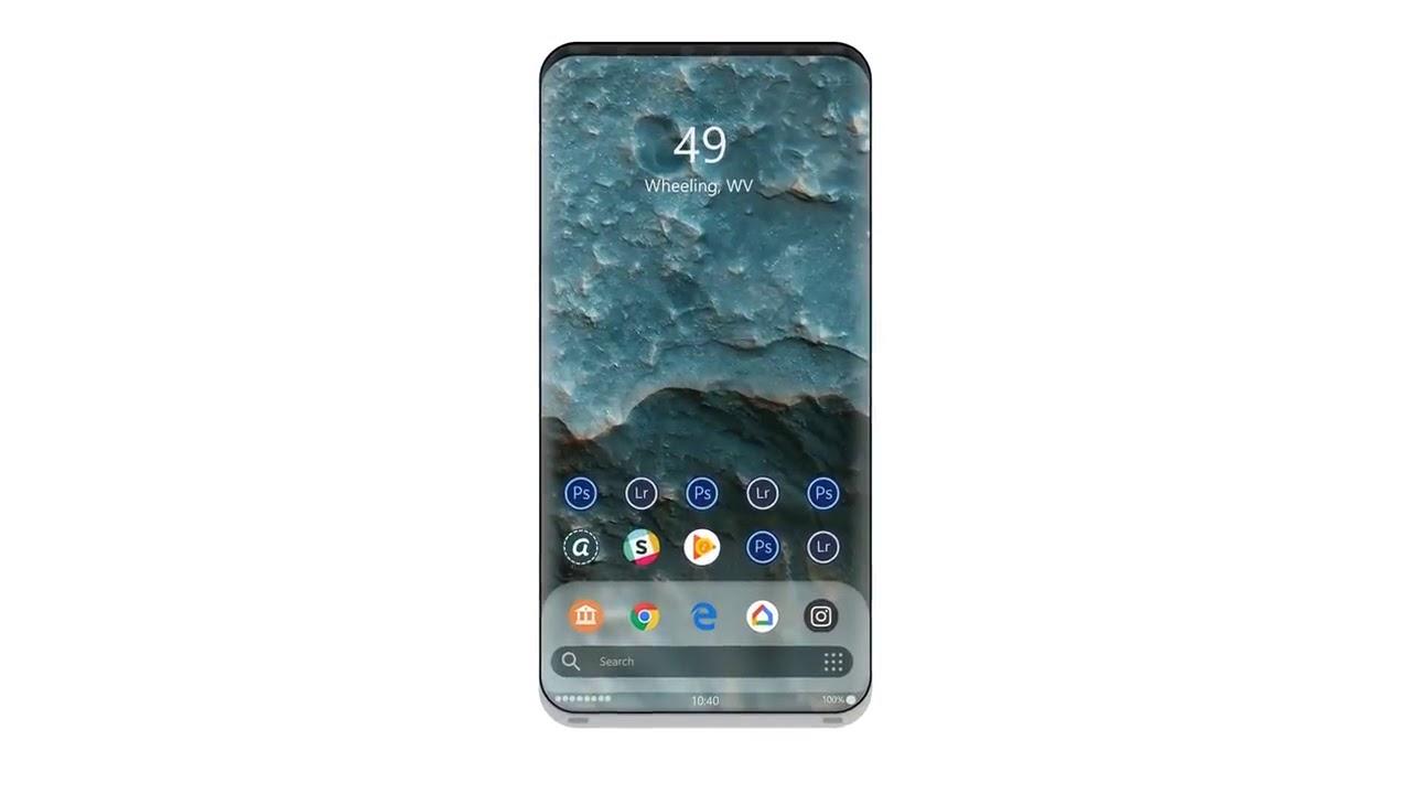 Рис. 7. Расположение селфи-камеры на безрамочном Google Pixel 3 пока неизвестно.