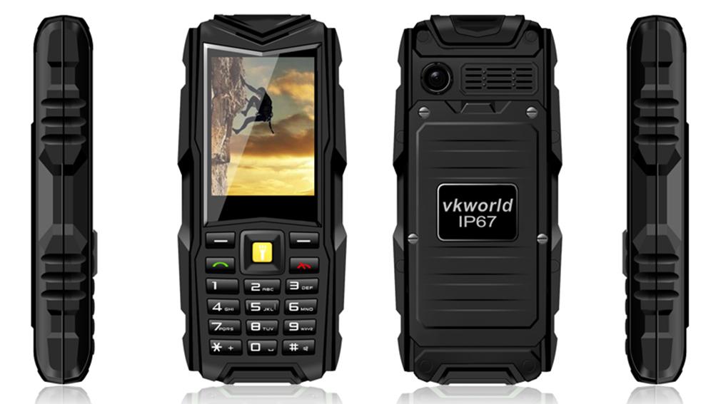 Рис. 9. Телефон VKWord Stone V3.