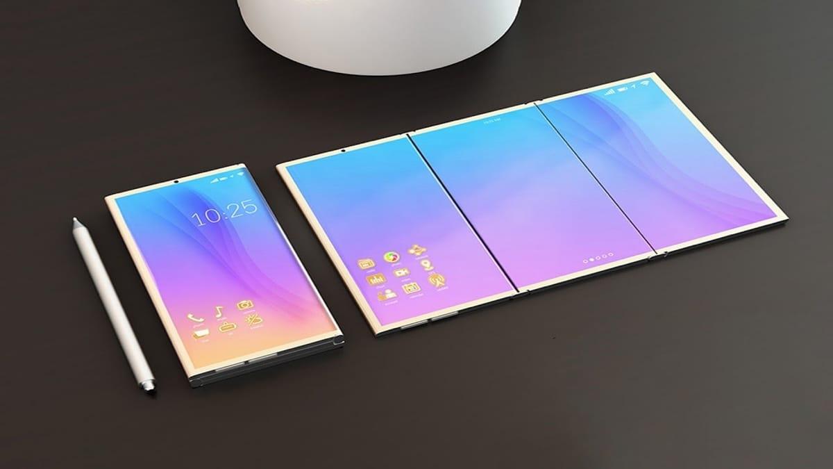 Рис. 10. Смартфон Samsung Galaxy X – модель, равных которой ещё не было.