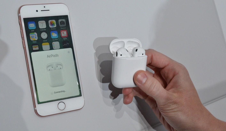 Беспроводные наушники Apple для iPhone 7 e2dd8ed40e31d