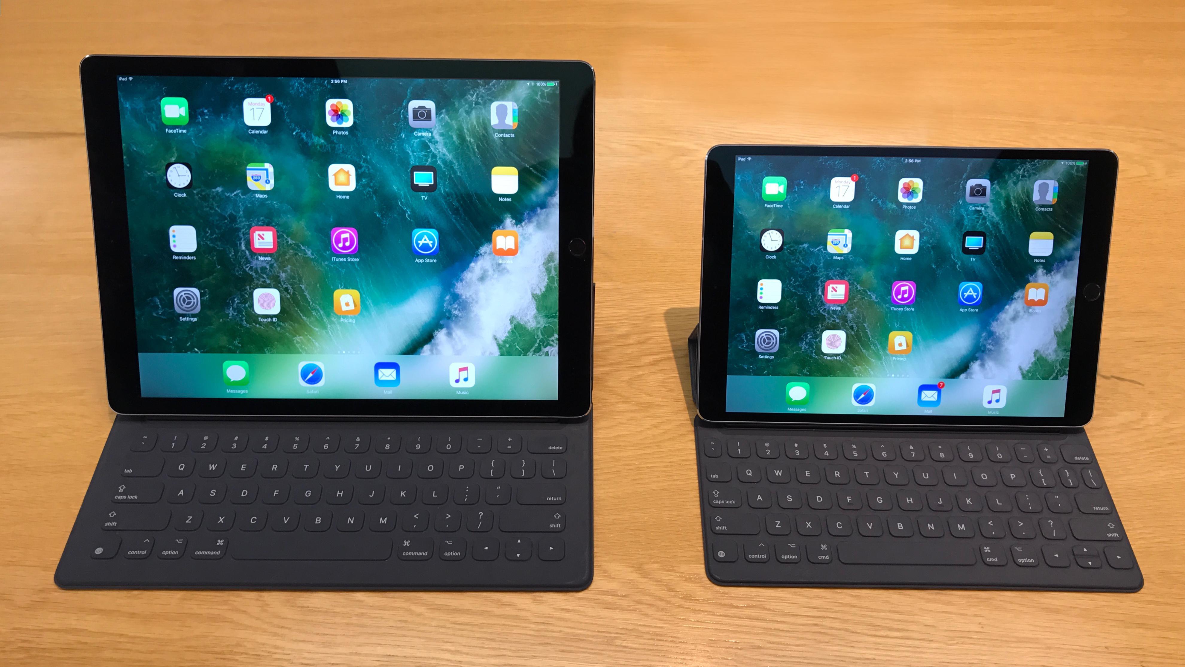 Рис. 12. Два мощнейших планшета от Apple