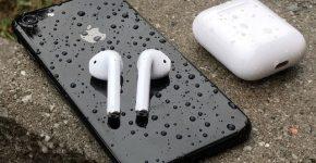 Беспроводные наушники Apple для iPhone 7