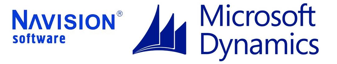 Рис. 2. Логотипы Navision A/S и Microsoft Dynamics