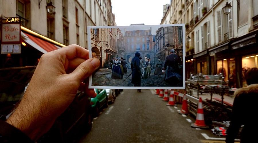 Рис. 3 – Историческая достоверность при изображении улиц Парижа
