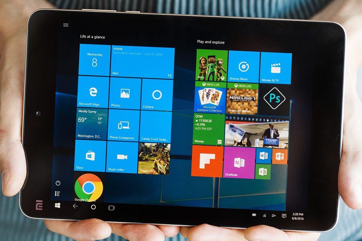 Рис. 3. Компактный и производительный планшет от Xiaomi.
