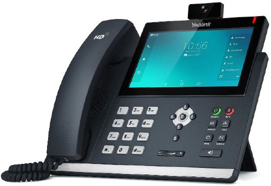 Рис. 3. SIP-телефон Yealink SIP-T57V