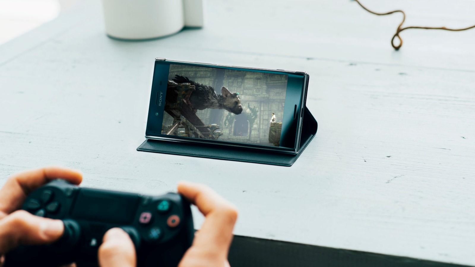 Рис. 4. Использование смартфона в качестве экрана для PS4.