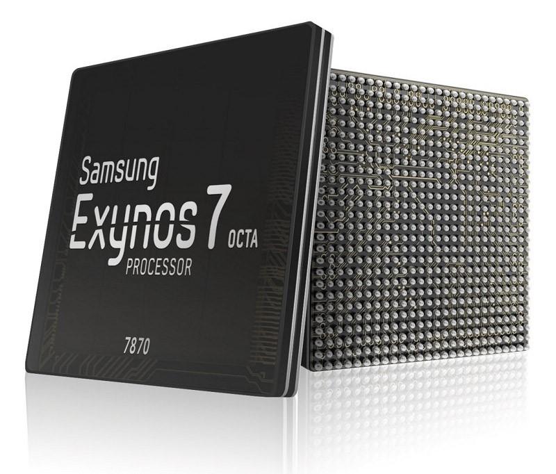 Рис. 5. Процессор Exynos 7870.