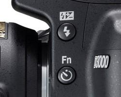 Рисунок 6 — металлическое кольцо байонета, программируемая кнопка FN и кнопка вспышки