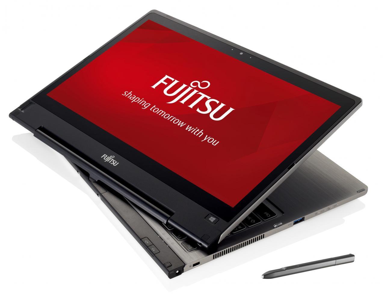 Рис. 8. Мощный планшет Fujitsu STYLISTIC Q704 3G на процессоре Core i5.