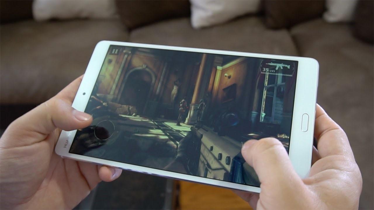 Рис. 8. Запуск современных игр на планшете обеспечивается неплохой аппаратной частью.