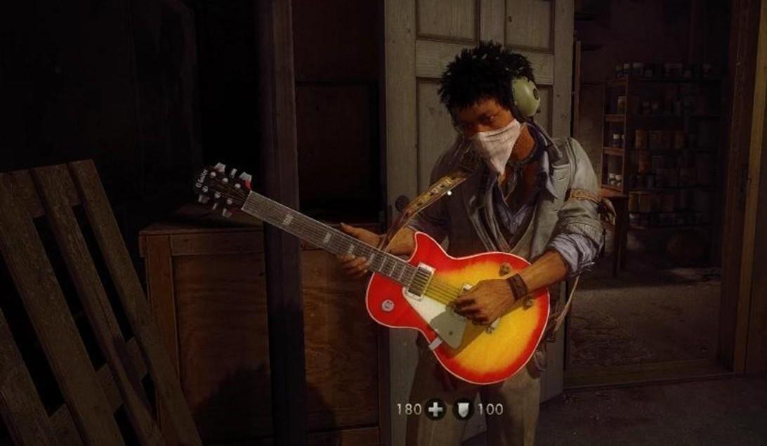 Рис. 9 – Последняя игра на гитаре